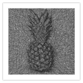 String art ananas
