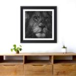 String Art Le lion