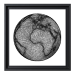Carte monde Globe Terre