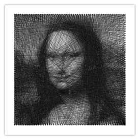 Tableau Needle Mona Lisa