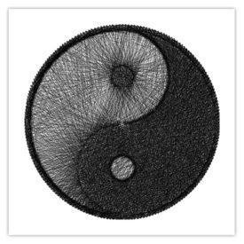 Tableau Needle Yin Yang