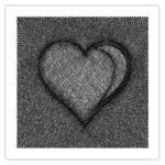 Tableau Needle Coeur