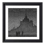 Tableau Mont Saint Michel