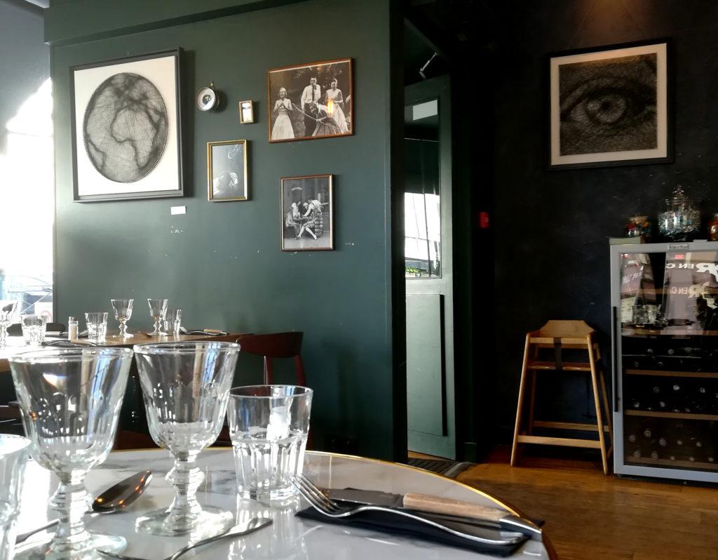 Exposition au Restaurant Le Loup, à Rennes